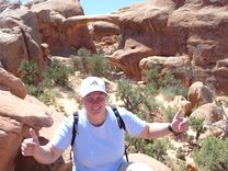 Arches Nationalpark Double O Arch