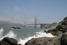 Golden Gate Bridge von Baker Beach aus