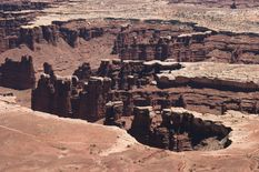 Grand View Point Overlook Canyonlands