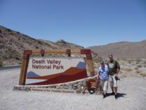 Parkeingang Death Valley