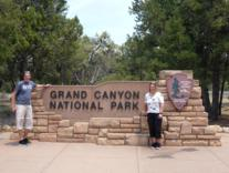 Parkeingang Grand Canyon