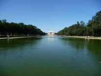 Reflecting Pool mit Lincoln Memorial