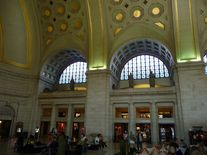 Union Station Washington Halle